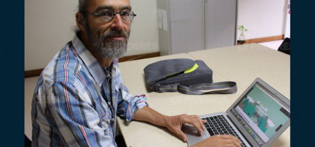Il crée un réseau social local : « danslejura.net »