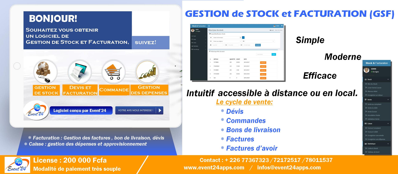 GSF   Notre logiciel de Gestion de Stock et facturation 0bb9d31d94d6